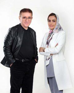 زهره احمدی و دکتر انوشه