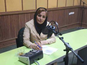 زهره احمدی در رادیو